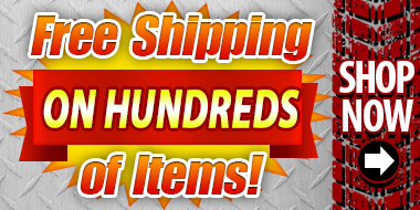 Free Shipping on Hundreds of Items