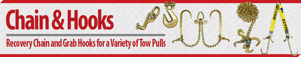 Shop Recovery Towing Chain and Grab Hooks for a Variety of Tow Pulls at East Coast Truck & Trailers Sales