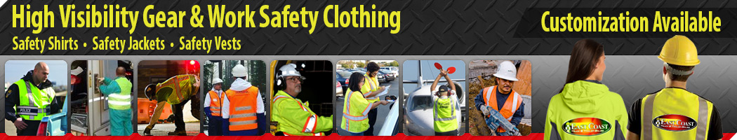 Custom Imprinting with High Visibility Gear & Work Safety Clothing