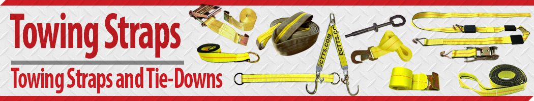Towing Straps and Vehicle Securement Tie-Downs For Any Job
